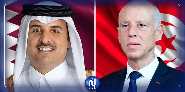 رئيس الجمهورية يتوجّه بجزيل الشكر لأمير قطر