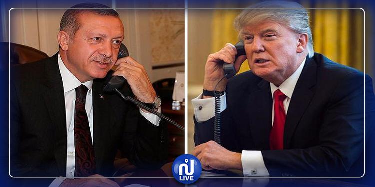 ترامب يتصل بأردوغان ويدعو للتهدئة في ليبيا
