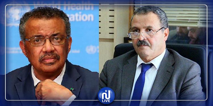 مدير منظمة الصحة العالمية يشكر عبد اللطيف المكي