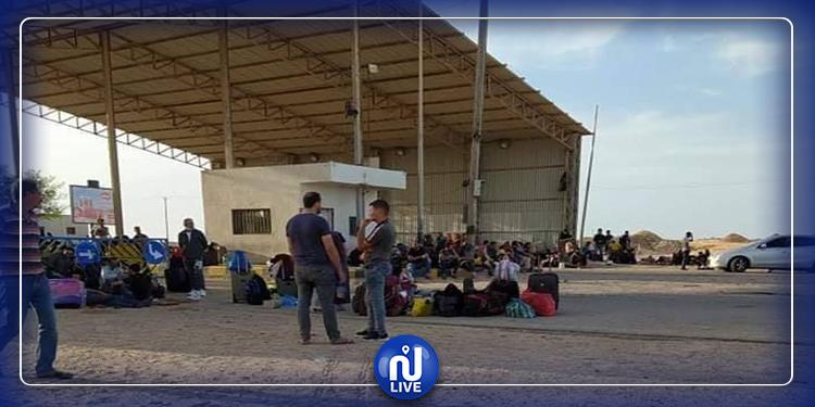 عودة 300 تونسيا من ليبيا عبر معبر راس جدير