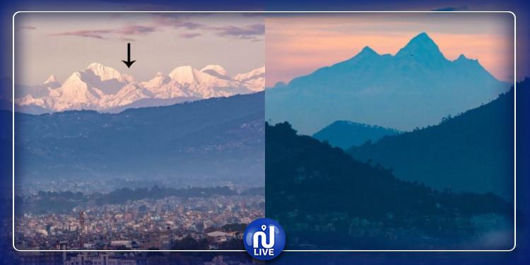 Des photos à couper le souffle de l'Everest depuis Katmandou