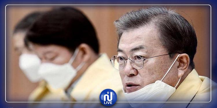 الرئيس الكوري يحذر من موجة ثانية لكورونا