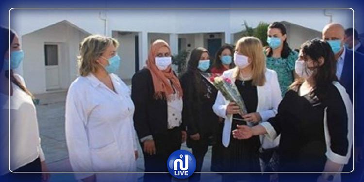 La ministre de la justice visite 2 centres pénitentiaires