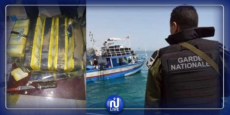 المهدية: بحار يعثر على 25 كلغ من الزطلة في شباكه والحرس البحري في الموعد