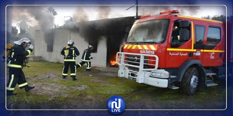 اطفاء أكثر من 60 حريق خلال يوم واحد