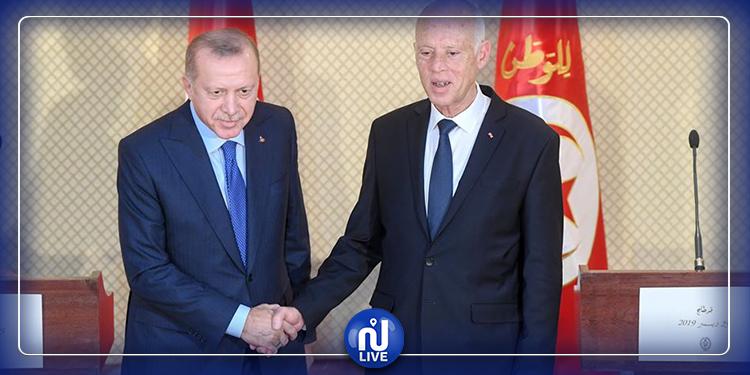 تركيا ترسل مساعدات إلى تونس ورسالة إلى قيس سعيد