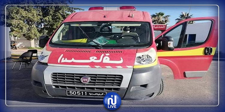 سيدي بوزيد: وفاة 3 أشخاص في حادثي مرور