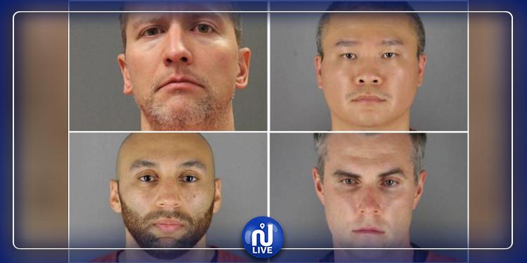 قضية جورج فلويد: اعتقال 4 ضباط وعقوبات قاسية في انتظارهم