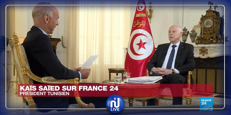 قيس سعيد:  تونس كانت تحت الحماية الفرنسية وليس الاستعمار المباشر