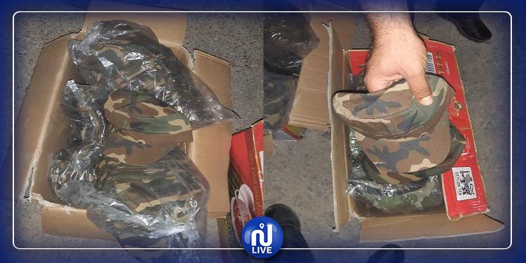بن قردان: حجز 475 قبعة عسكرية مهربة