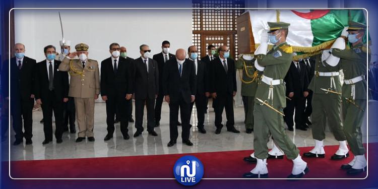 الجزائر: وصول رفات 24 مقاوما للاستعمار الفرنسي (صور)