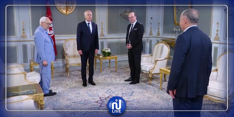 رئاسة الجمهورية: الفخفاخ قدم استقاله صبيحة هذا اليوم