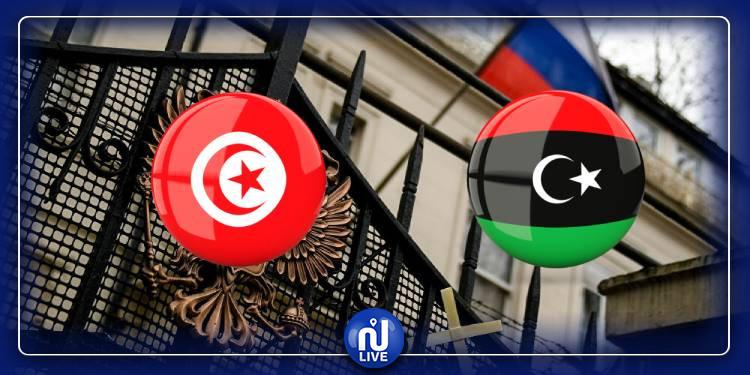 روسيا تعلن استئناف عمل سفارتها في ليبيا من تونس