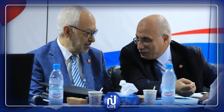 الخميري:  شورى النهضة فوّض  الغنوشي لإجراء مفاوضات تشكيل حكومة جديدة