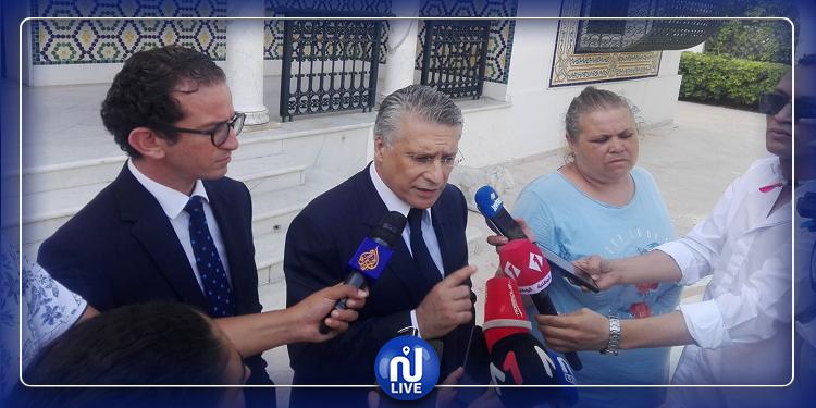 نبيل القروي: يجب تشكيل حكومة تحظى بحزام سياسي واسع