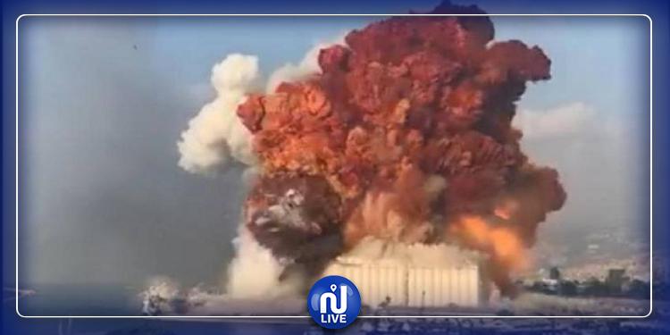 ما هي المادة التي سببت انفجارا يشبه الانفجارات النووية في بيروت؟