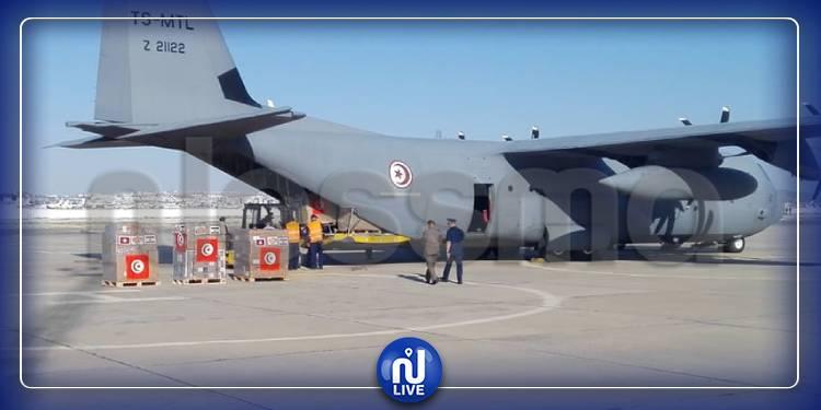 مطار العوينة العسكري: شحن المساعدات الموجهة إلى لبنان