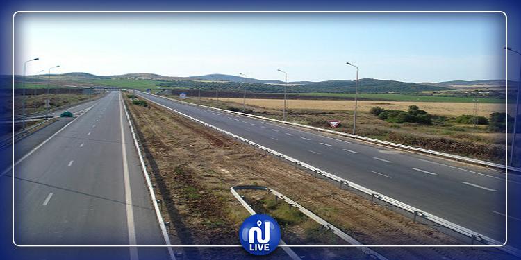 استئناف حركة المرور بالطريق السيارة تونس-باجة