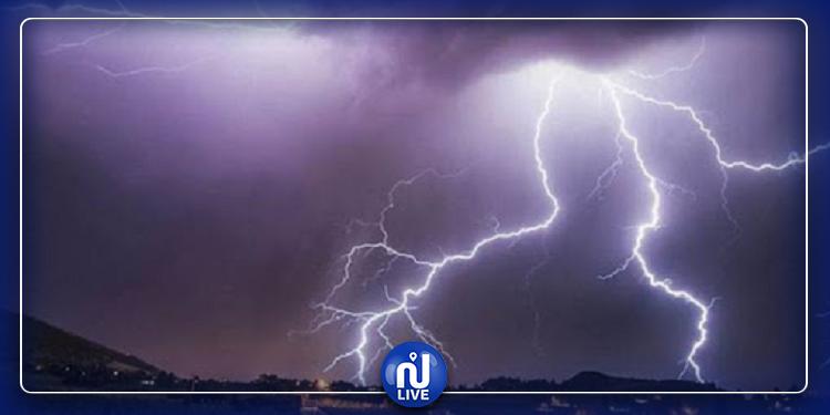 سليانة: عاصفة  تتسبب في انقطاع التيار الكهربائي بعدة مناطق