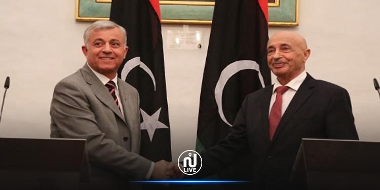 الاتحاد الأوروبي يرفع عقوبات عن عقيلة صالح وأبو سهمين