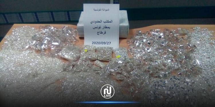 عونا تأمين يحاولان تهريب 31.4 كلغ من المصوغ بمطار قرطاج