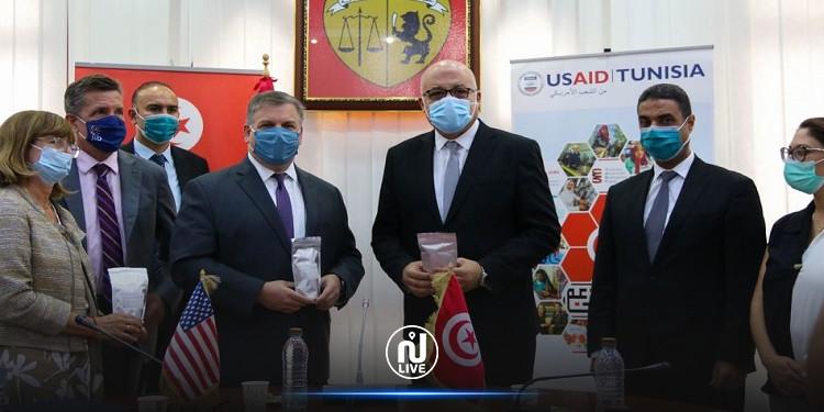 واشنطن تمنح تونس 100 ألف اختبار كورونا