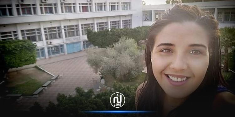 الطالبة المطرودة من ابن شرف رحمة الخشناوي تدخل في إضراب جوع