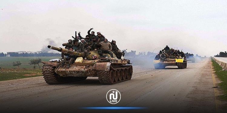 الخارجية الروسية تعلن انتهاء المواجهة العسكرية بين الحكومة السورية والمعارضة