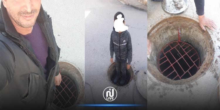 شاب تونسي يتكفل بصناعة أغطية تحمي المواطنين من السقوط  في البالوعات