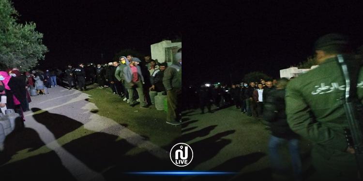 مدنين: الحرس الوطني يؤمّن توزيع أكثر من 4000 قارورة غاز منزلي