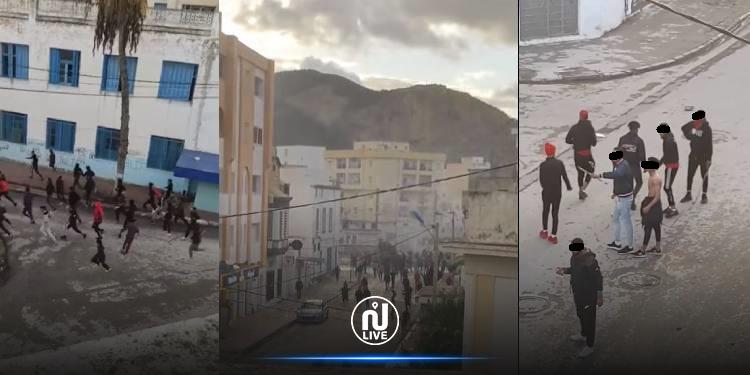 بن عروس: ''حرب شوارع'' بين مجموعتي ''فيراج''  (فيديو)