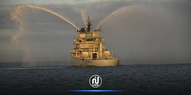 الجيش الجزائري يتسلح بسفينة حربية جديدة