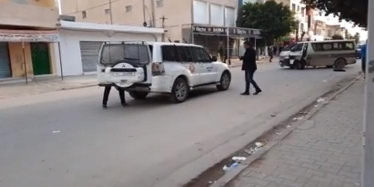 مواجهات بين محتجين ووحدات الأمن بسليانة المدينة