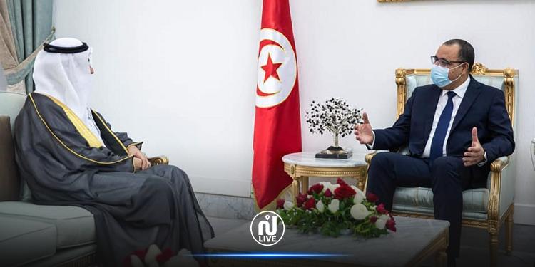 رئيس الحكومة يستقبل السفير الجديد للمملكة العربية السعودية بتونس
