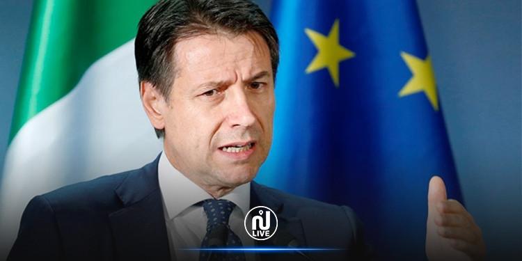 رئيس الوزراء الإيطالي يقدم استقالته غدا الثلاثاء