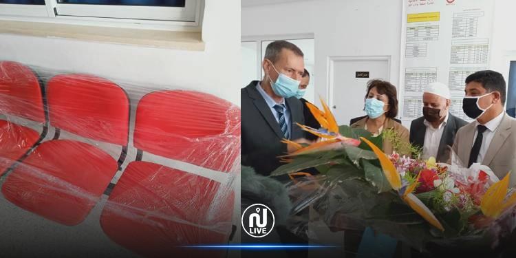 وادي الليل: الوالي والمعتمد ومدير الصحة ورئيس البلدية يدشنون 11 كرسيا جديدا