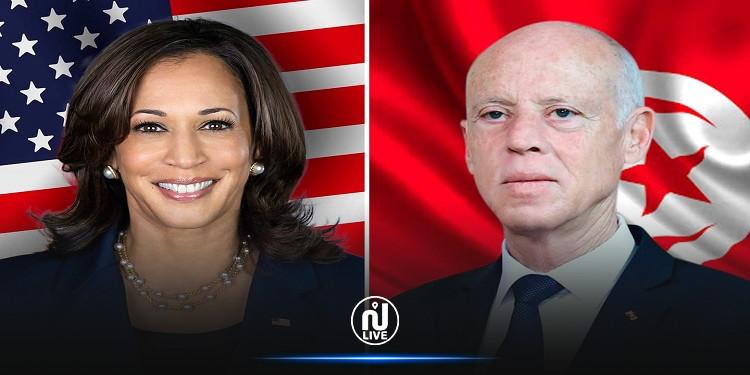 ما لم يقل في بلاغ الرئاسة: هاريس تؤكّد لسعيّد أهمية المؤسسات الديمقراطية ودعم واشنطن لمفاوضات تونس مع صندوق النقد الدولي