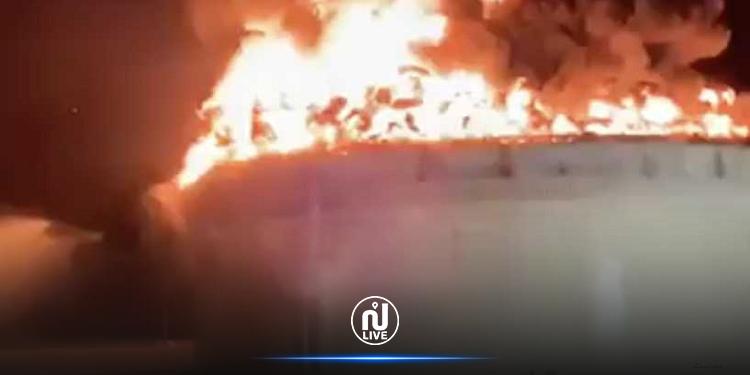 أضرار ضخمة تطال منشأة نفط إسرائيلية جراء القصف من غزة