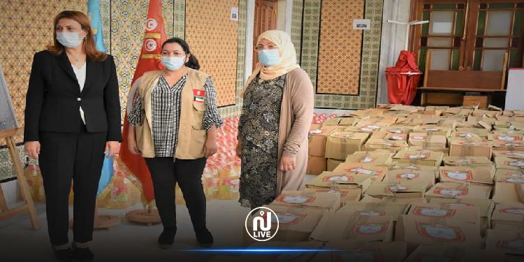 بلدية تونس: توزيع 400 إعانة عينية و350 إعانة مادية على العائلات المعوزة