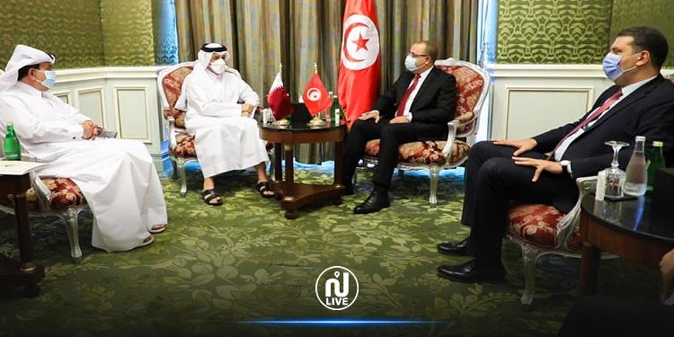 وزير الخارجية القطري: نرغب في الاستفادة من الخبرات التونسية في مختلف المجالات