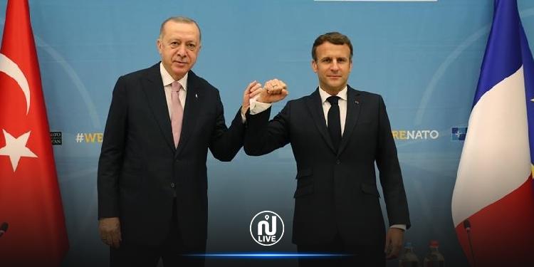 ماكرون لأردوغان: فرنسا لا تهاجم أي دين