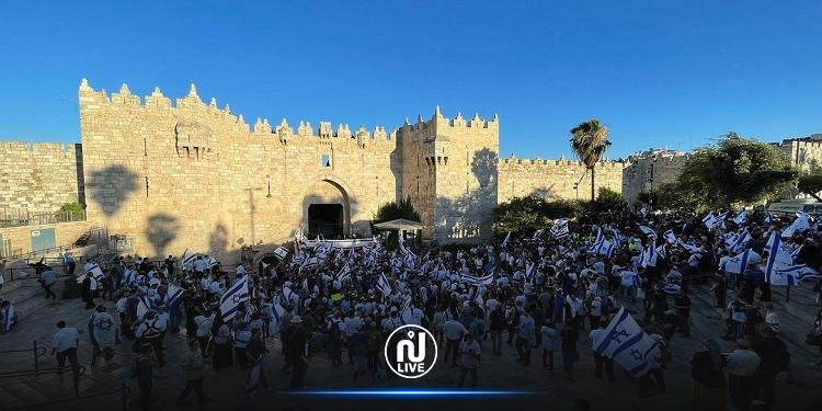 مع انطلاق مسيرة الأعلام..إصابة 17 فلسطينيا بالقدس