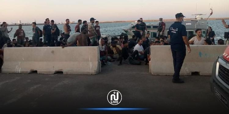 انتشال 17 جثة وإنقاذ 160 مهاجر بسواحل جرجيس