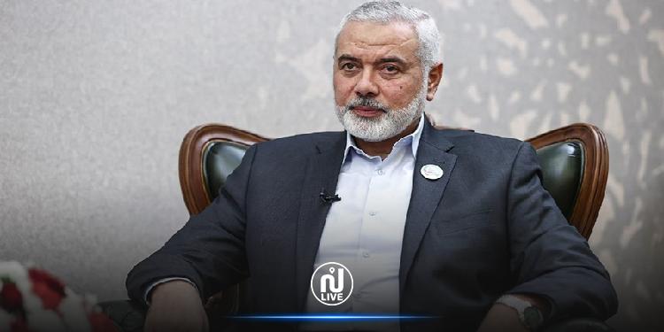 حماس تُعيد انتخاب اسماعيل هنية رئيساً للحركة لدورة جديدة
