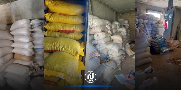 فرنانة: حجز مواد محتكرة بقيمة 400 ألف دينار