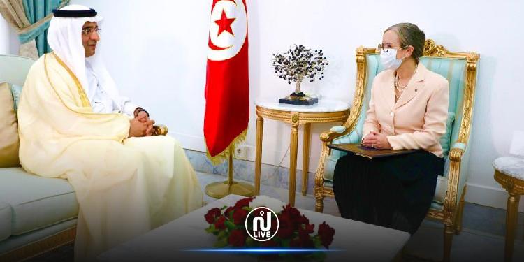 فحوى لقاء نجلاء بودن بسفير السعودية