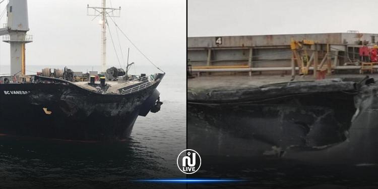 تركيا: اصطدام سفينتي شحن في بحر مرمرة