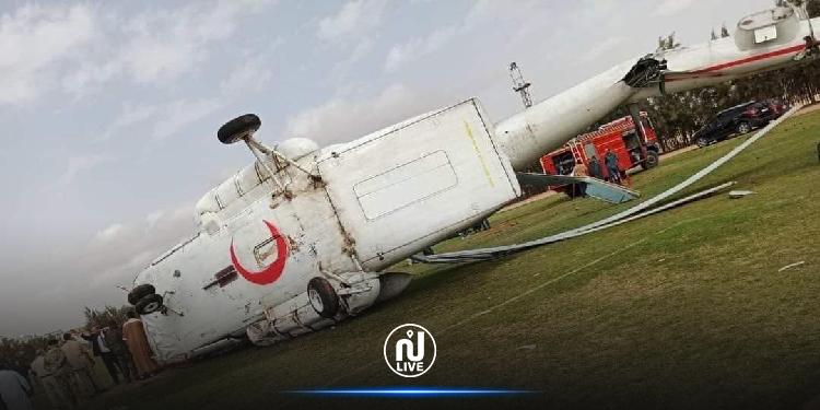 تحطم طائرة ليبية محملة بالأموال