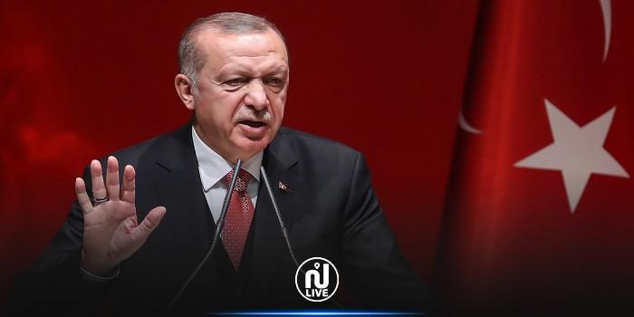 أردوغان يعلق على أزمة السفراء: أنا في موقف هجومي ولا يوجد في قاموسي كلمة تراجع أبدًا