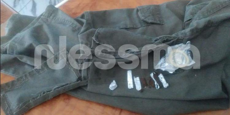 السجن المدني بلاريجيا - جندوبة : إحباط إدخال 5 قطع من الزطلة وواقي ذكري إلى سجين (صور)